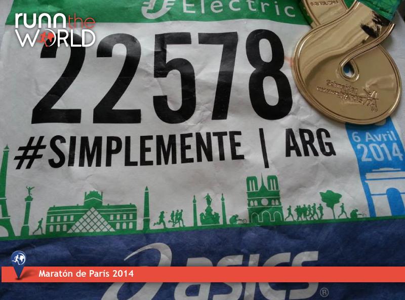 Maratón de París 2014