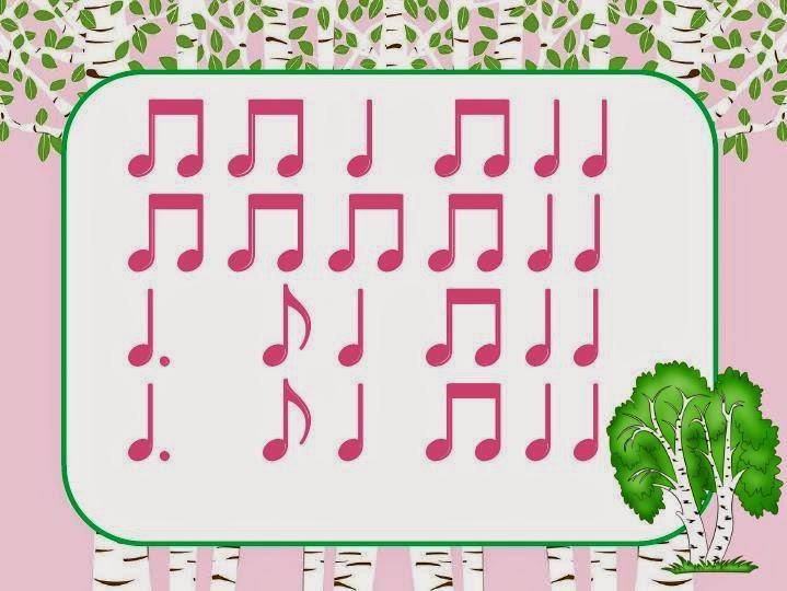 Мои Первые Ритмы Сольфеджио Для Малышей