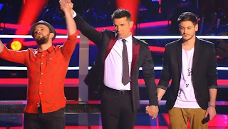 Luis y Joaquín cantan Wake Me Up-La Voz 2015. Batallas Gala 3