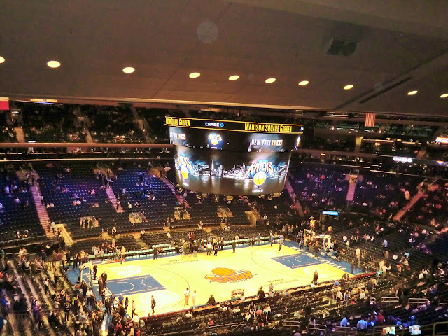 Madison square garden match de NBA