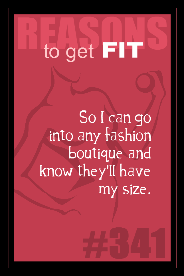 365 Reasons to Get Fit #341