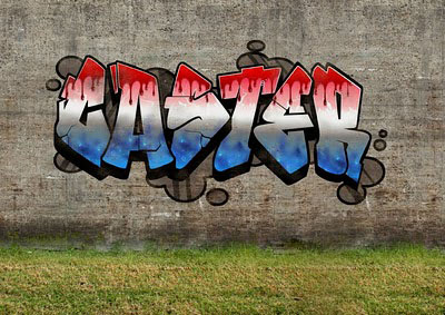 Graffiti Letter For MIDGEM
