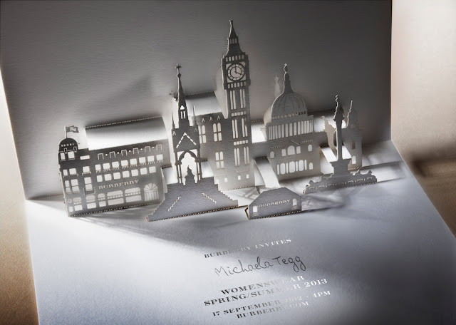 Burberry Prorsum Spring/Summer 2013 Invite