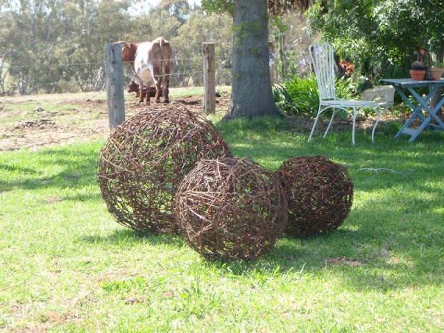 The art of up cycling wire barbed