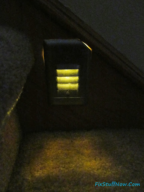 Stairway Lighting Fixture with LED Bulb