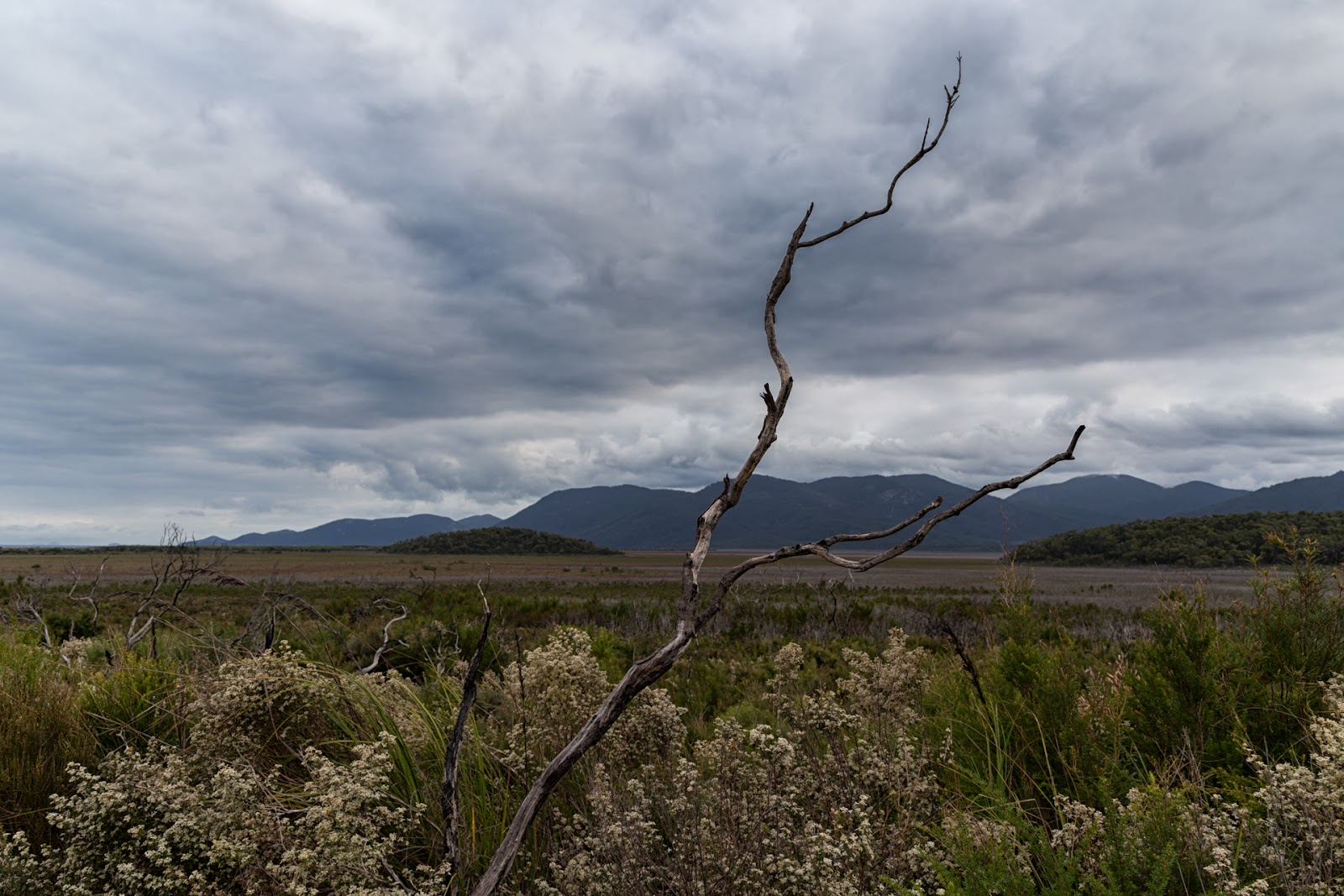 clouds over wilsons promontory