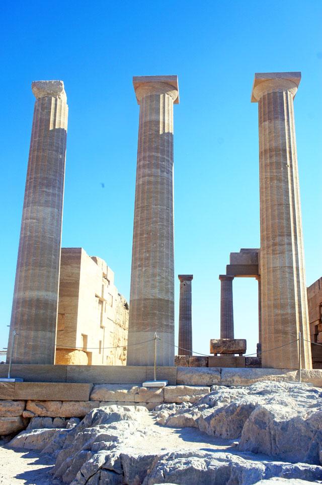 Temple of Athena, Lindos Acropolis