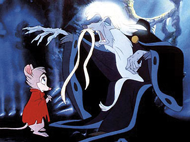 Nicodemus on his throne Secret of NIMH 1982 animatedfilmreviews.blogspot.com
