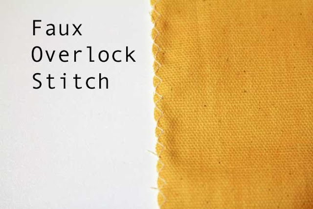 How to overlock without a serger - How to finish seams - Melly Sews