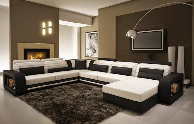 Minimalist Large Sectional Sofa Designs picture
