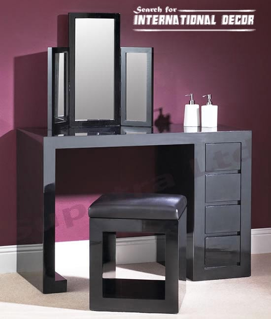 modern dressing table mirrors and designs. Black Bedroom Furniture Sets. Home Design Ideas