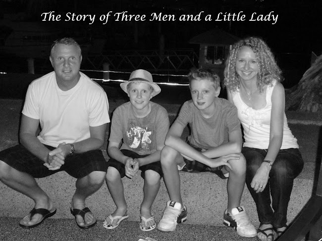 The Story of 3 Men and a Little Lady