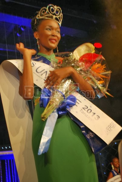 Miss Universe Tanzania 2013 winner Betty Boniphace Omara