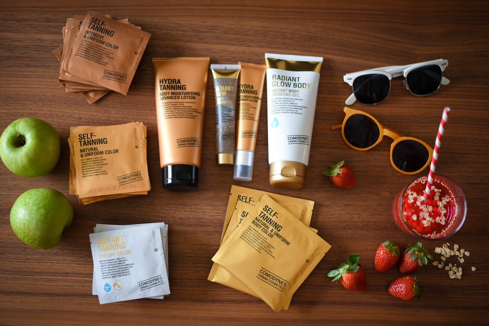 Comodynes tanning products