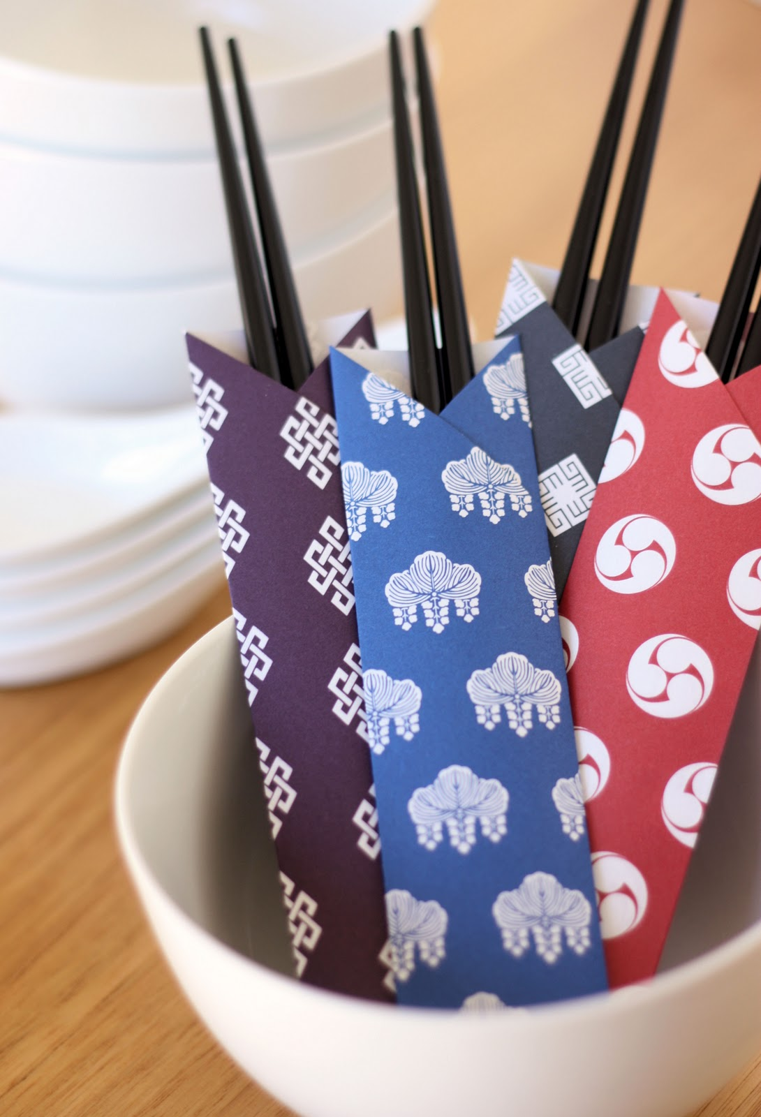 how to make chopstick sleeves