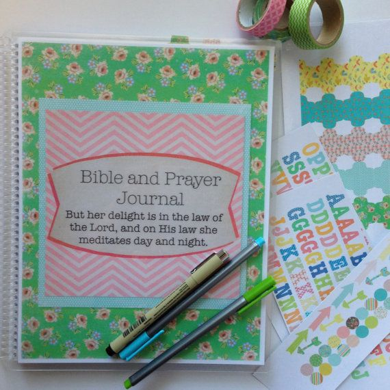 Win the Bible Journal Deluxe Kit by @FarmGirlJournal with @W2WMinistries. #giveaway #Biblejournaling
