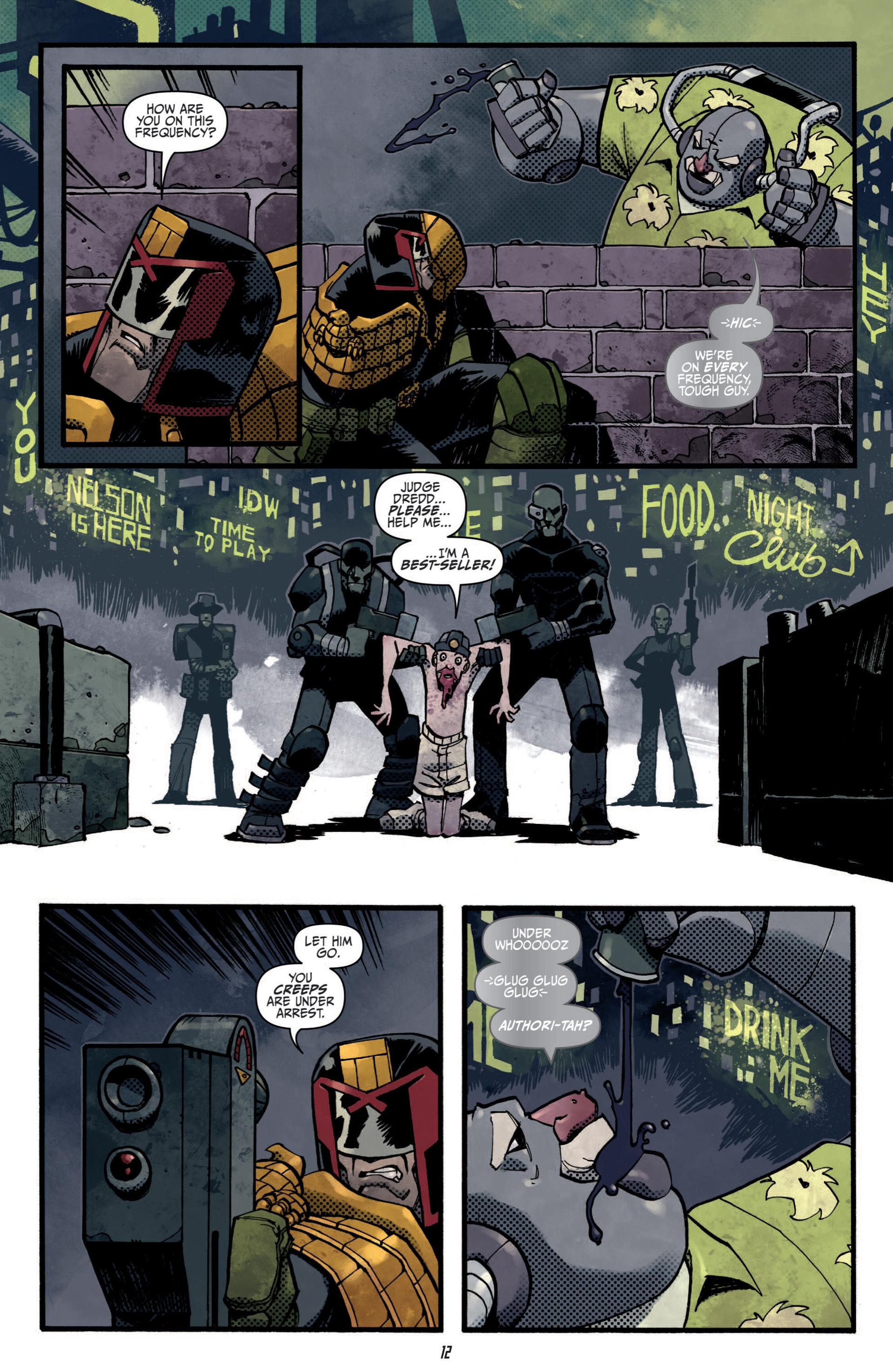 Read online Judge Dredd (2012) comic -  Issue #5 - 14