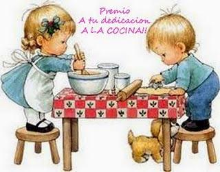 """Premio """" Dedicación a la Cocina"""""""