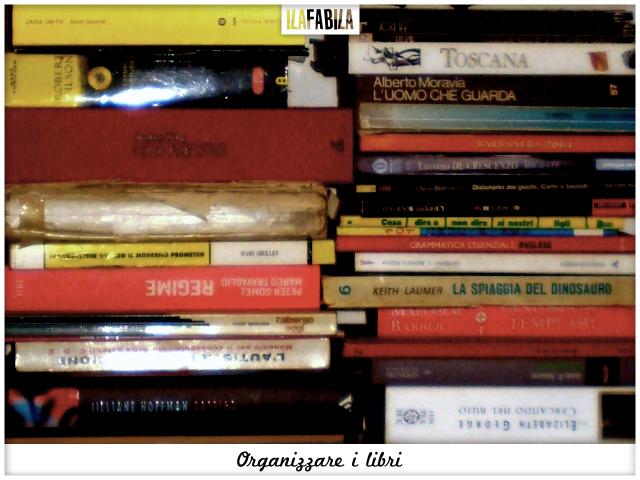 Organizzare i Libri