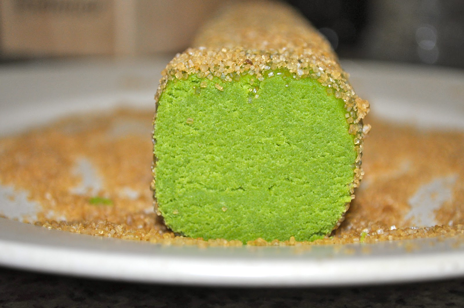 A Handmade Life: Matcha Green Tea Shortbread Cookies