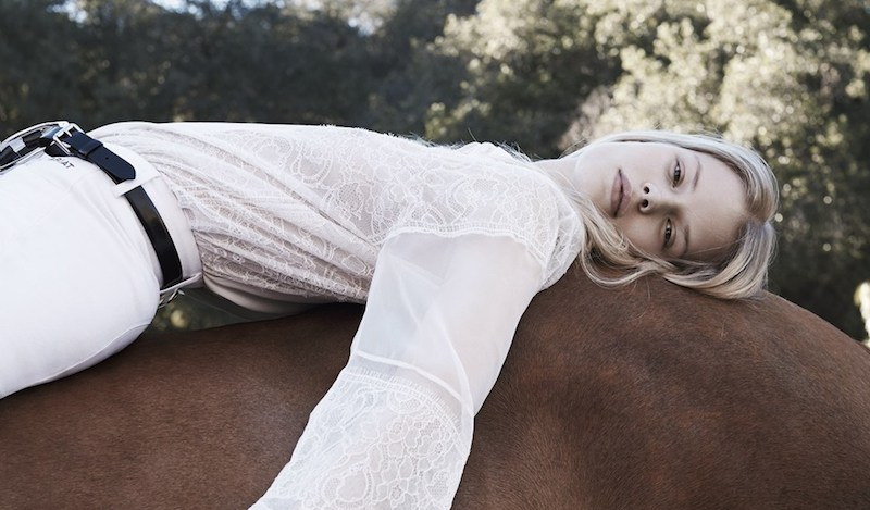Riding High - Alena Blohm By Liz Collins For Us Elle May 2015
