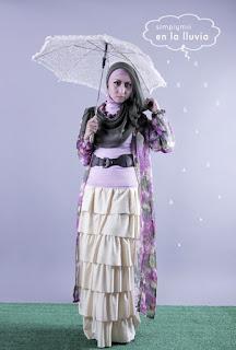 model hijab Igo Cantik ala dewi sandra