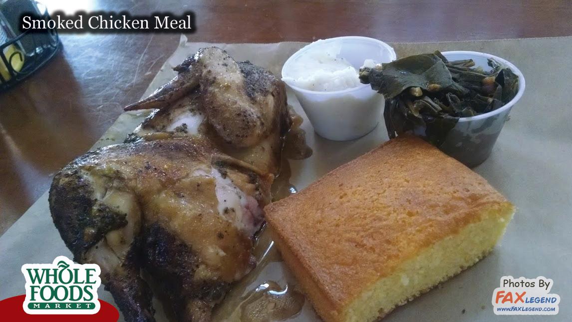 Whole Foods Sports Spot Smoked Chicken Mondays