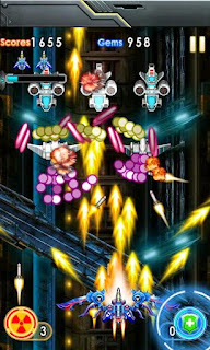 Screenshots of the Star Fighters Storm Raid for Android tablet, phone.