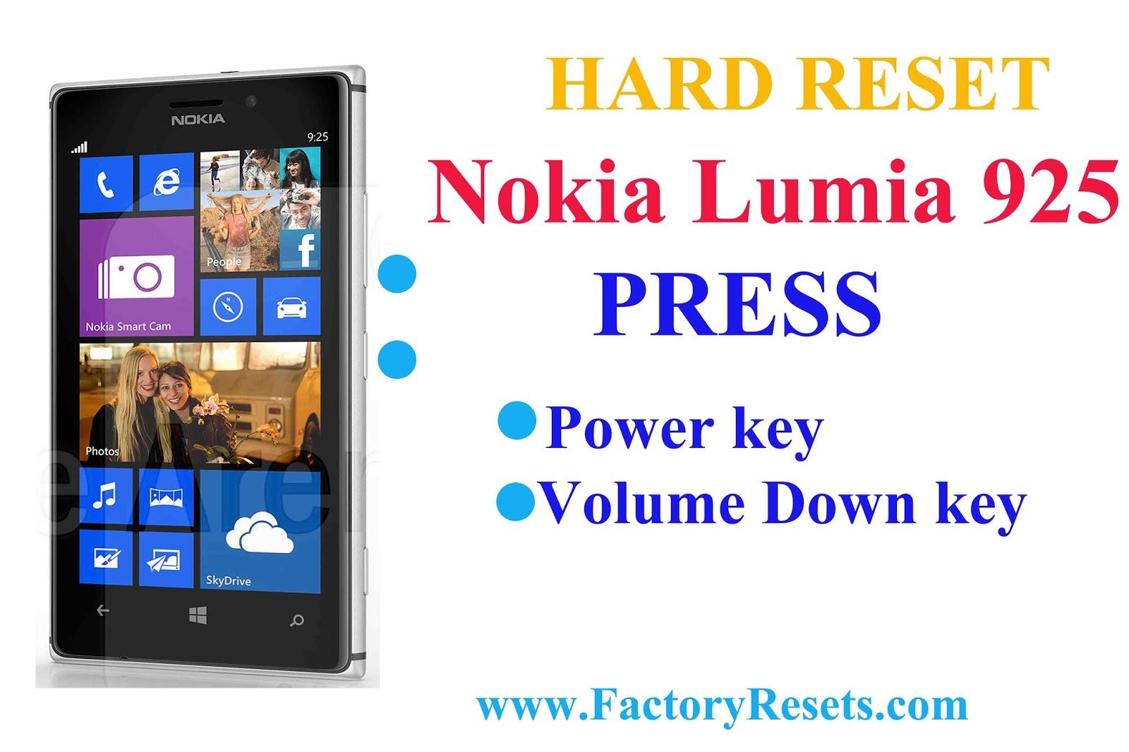 Lumia как сделать hard reset