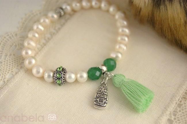 Pulsera de perlas Matrioska