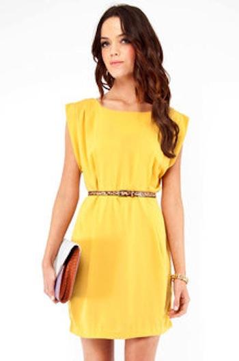 MyStyleSpot Tobi com Yellow Dress Perfect for Spring