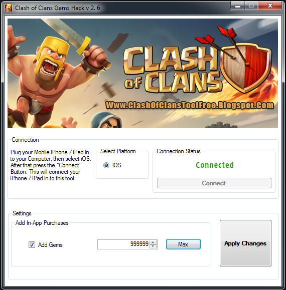 Clash Of Clans Gems Hack & Cheats No Generator 100 Working