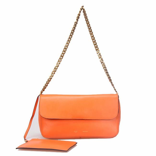 celine gourmette shoulder strap bag