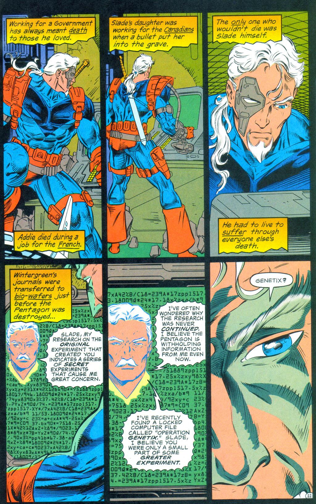 Deathstroke (1991) Annual 3 #3 - English 23