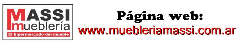 MUEBLERIA MASSI