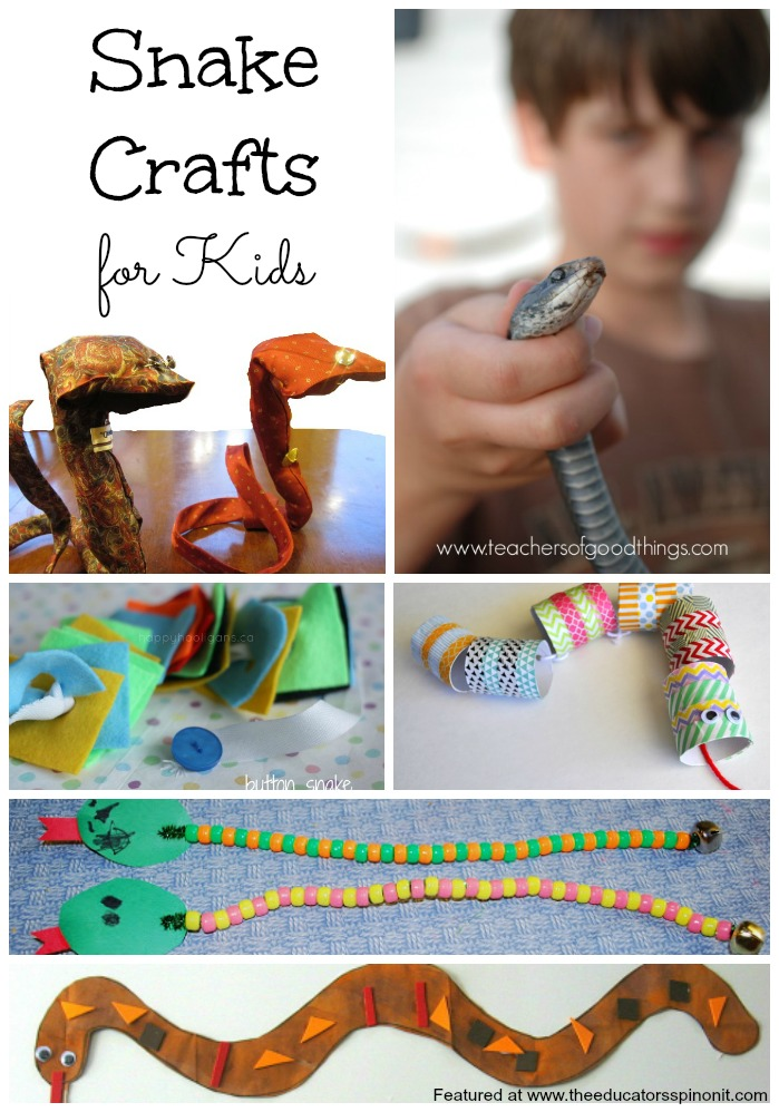 This post contains affiliate links for Reptile crafts for kids