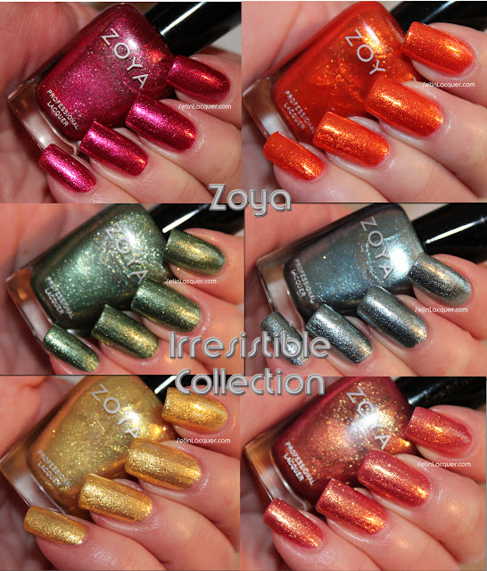 Zoya Irresistible Collection