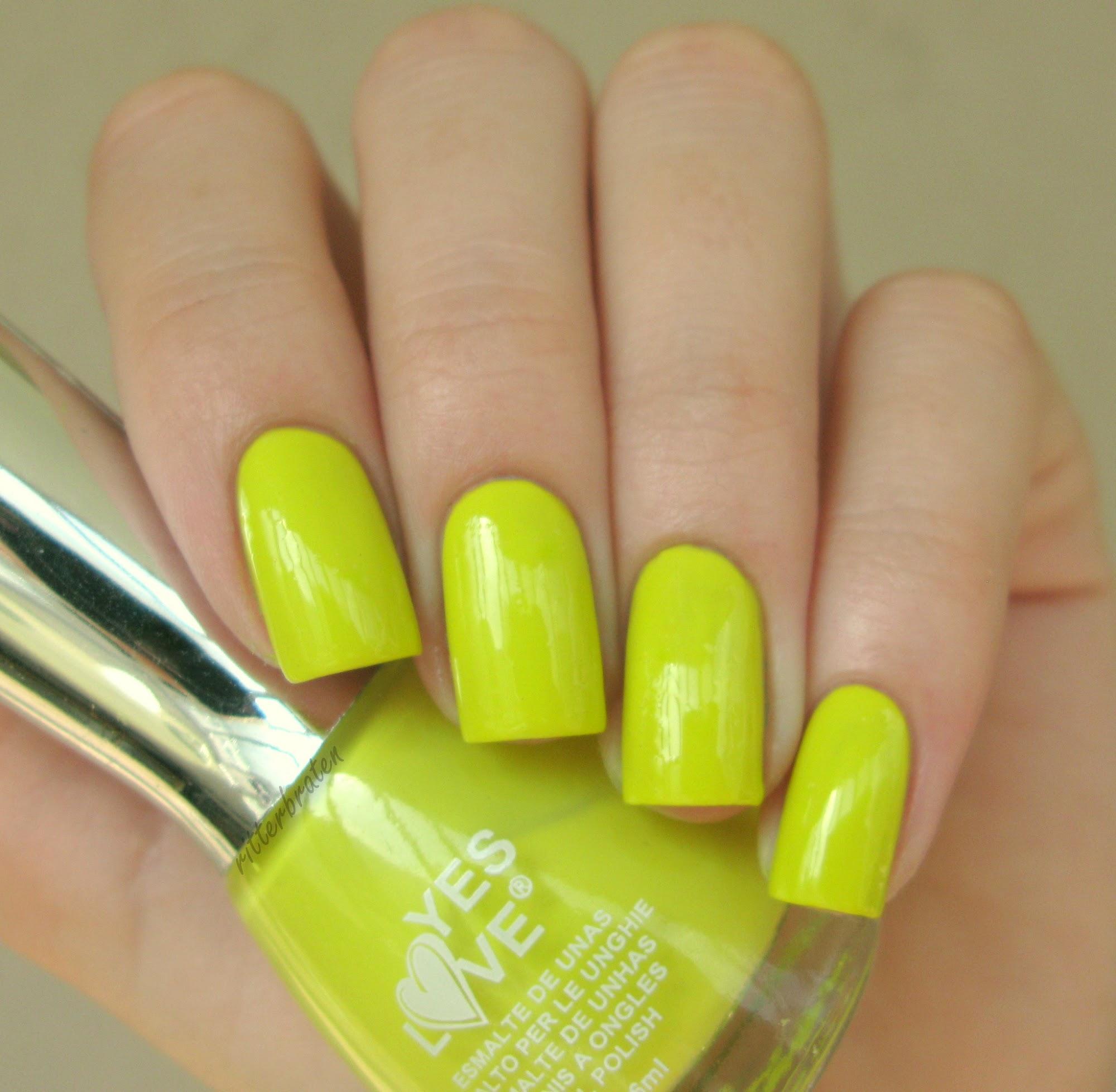 lime nail polish