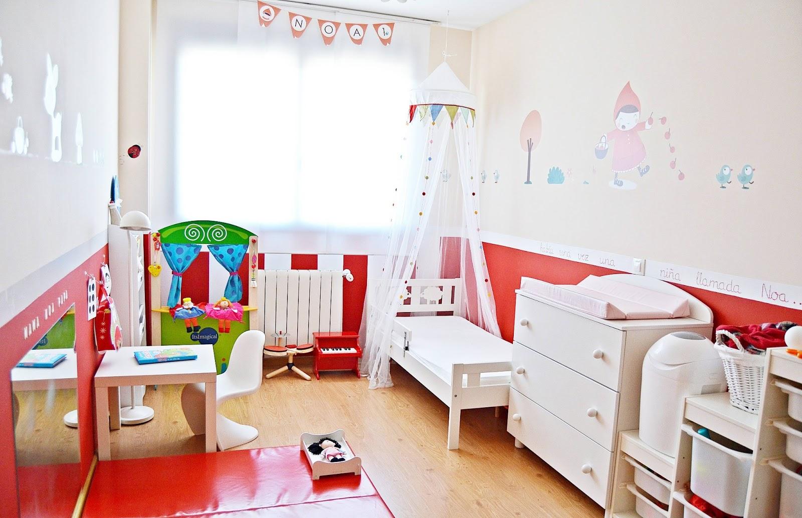Mam de noa cambio de habitaci n de beb a mayor - Dormitorios infantiles para dos ...