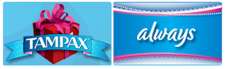 Free Always and Tampax Products