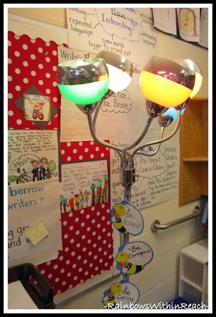 Classroom Decor Details (RoundUP at RainbowsWithinReach)