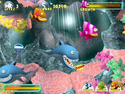 Permainan Ikan Makan ikan Lucu Fish Tales