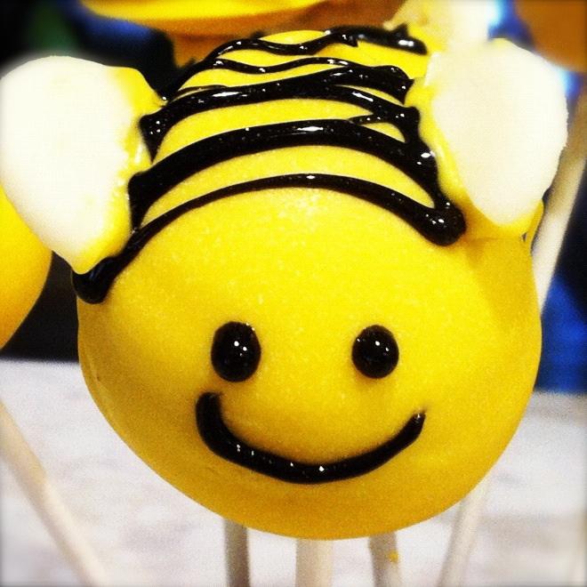 Easy Bumble Bee Cake Pops