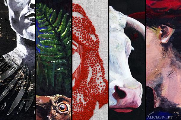 aliciasivert, alicia sivertsson, utställning, collage, bidrag, ansökan, konst, art, uppror, prestationsångest, prestationsdjävlar