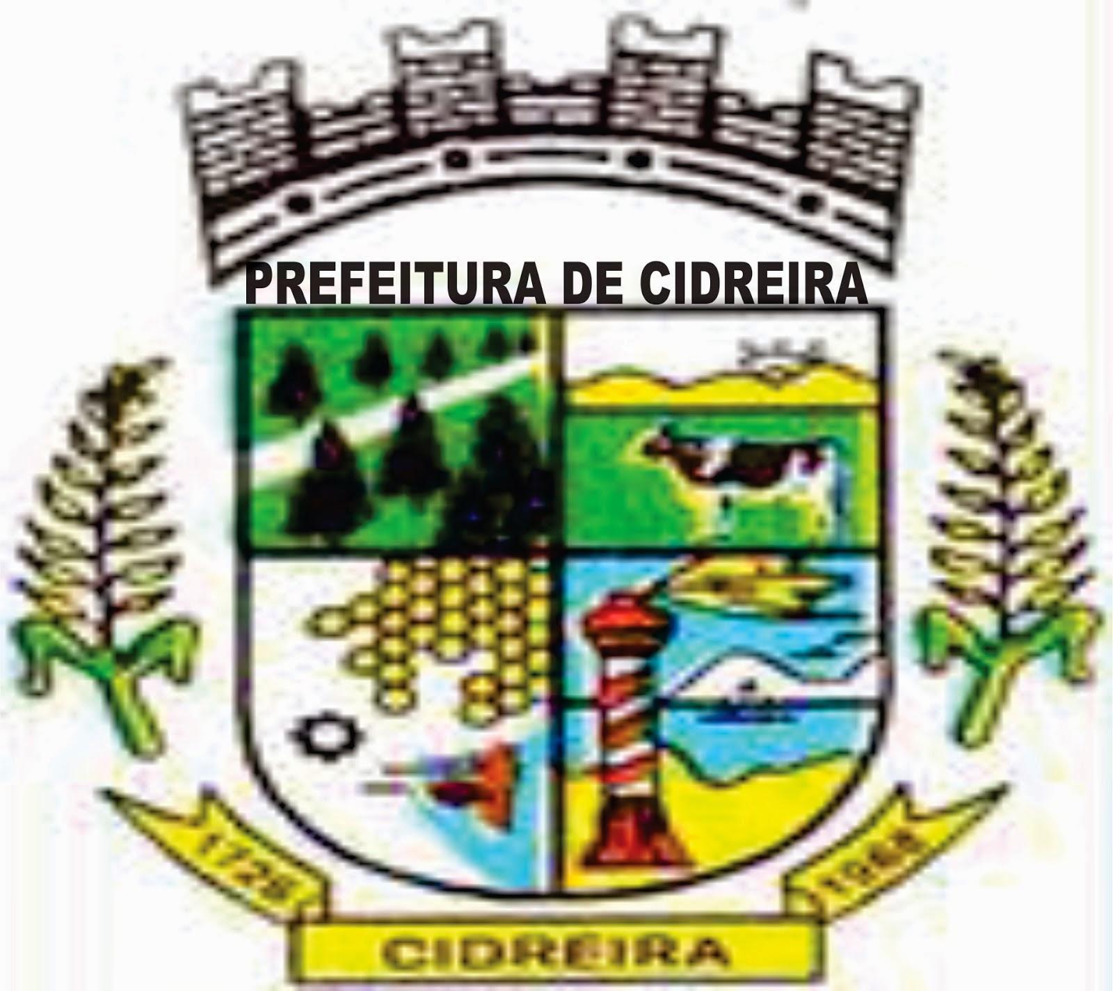 PREFEITURA MUNICIPAL DE CIDREIRA