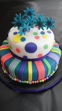 Dual Birthday Cake