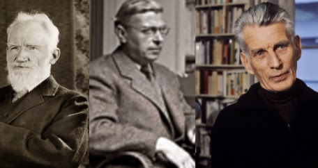 Shaw, Sartre, and Beckett