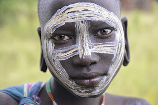 Suri Boy Ethiopia, photo by Rod Waddington