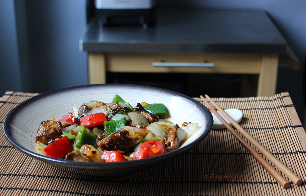 ... Oil : Vegetarian Chinese-style Spicy Beef and Peppers made with Quorn