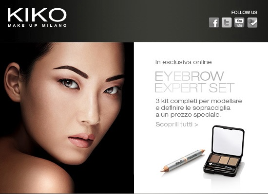 KIKO - Eyebrow Expert Set